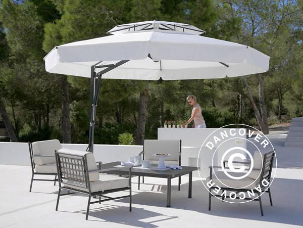 Aurinkovarjot tarjoavat varjoa ja laatua