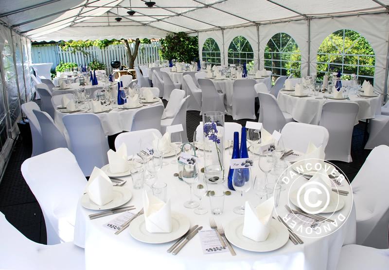 Juhlapöydät ja -tuolit kaikenlaisiin tilaisuuksiin