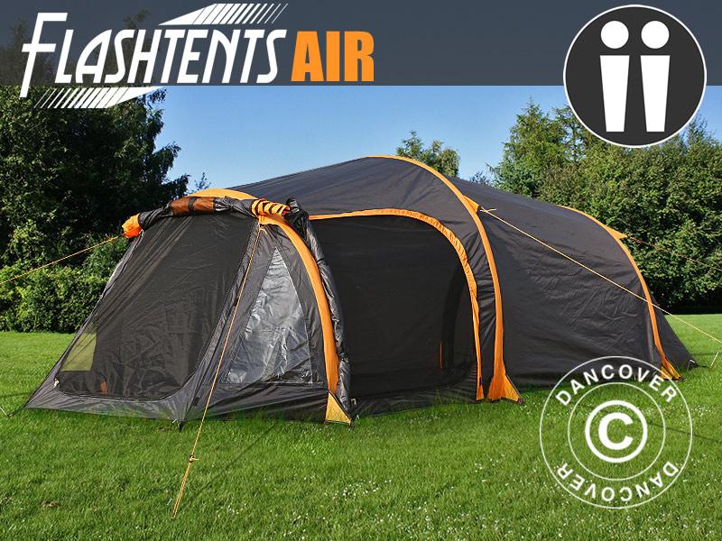 Ilmalla täytettävät teltat Dancoverilta – retkeilyä helposti