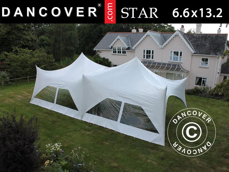 Pole tent 'Star' – uusi, elegantti ja orgaaninen juhlatelttamme